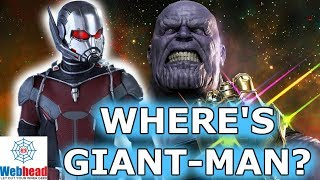 Where is Ant-Man/Giant-Man in Avengers Infinity War? Will He Fight Thanos?  | Webhead