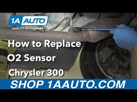 How to Replace Downstream O2 Sensor 05-10 Chrysler 300