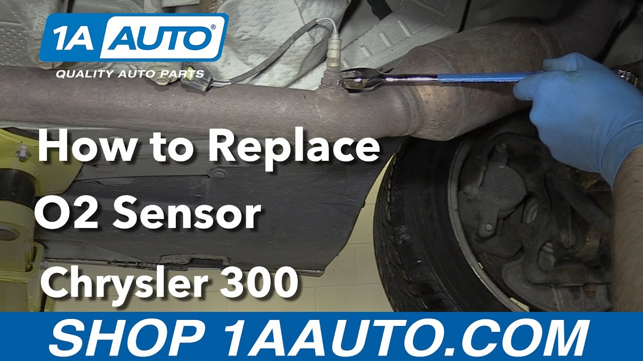 hight resolution of how to replace downstream o2 sensor 05 10 chrysler 300