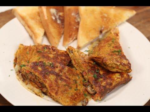 Cheese Stuffed Masala Omelette | The Food Hippie | Sanjeev Kapoor Khazana