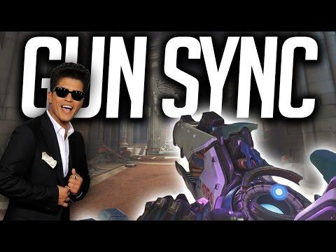 Overwatch Gun Sync - Bruno Mars - That's What I Like
