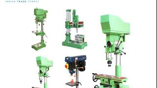 Industrial Drill Machine Marketers from Indian Trade Street