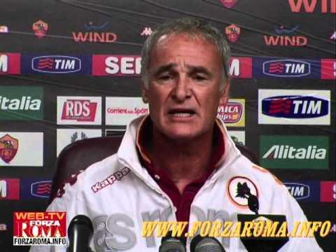 Lo sfogo di Ranieri contro i giornalisti prima di Roma-Bologna - 18/09/2010