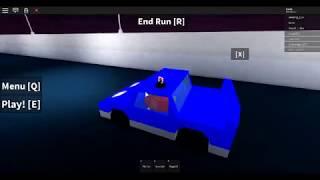 playing car crash sim # roblox