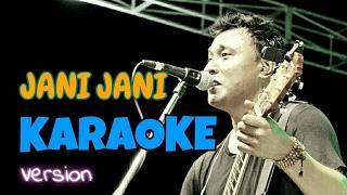 JANI JANI | Nepali Karaoke Song (Track) | Deepak Bajracharya
