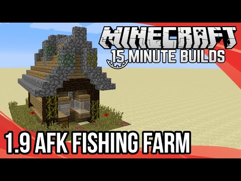 Minecraft 15-Minute Builds: 1.9 AFK Fishing Farm
