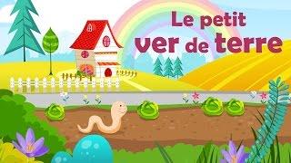 Le petit ver de terre - Comptine avec gestes pour enfants et bébés (avec les paroles)