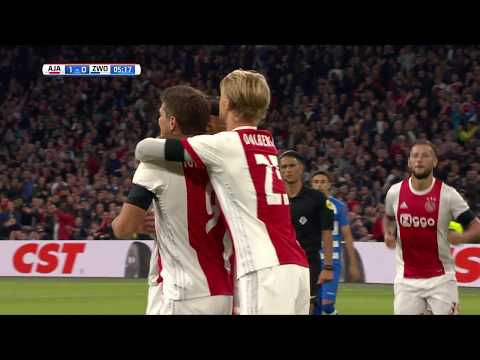 Samenvatting Ajax - PEC Zwolle: 3-0