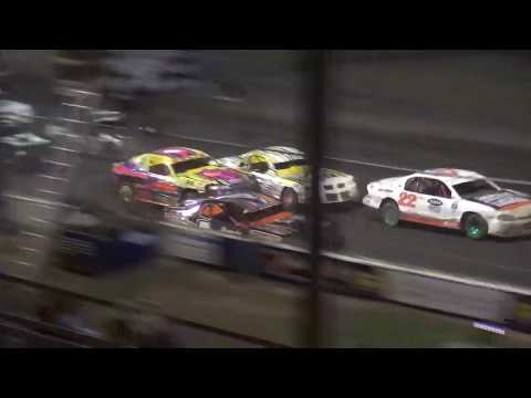 IMCA Stock Car Season Championship feature Benton County Speedway 8/11/19