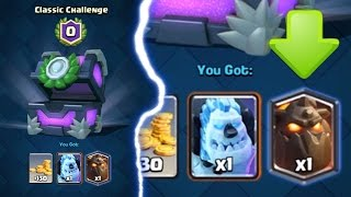 0.05% CHANCE OF THIS HAPPENING IN CLASH ROYALE | Legendary Odds at 0 Wins