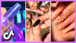 Special Summer Acrylic Nails That Are at Another Level | Amazing Nails Art Ideas TikTok Compilation