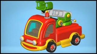 Build & Play: 3d Fire Truck Puzzles Demo App: Kid's Educational Iphone (xe Tải Lớn/รถบรรทุกขนาดใหญ่