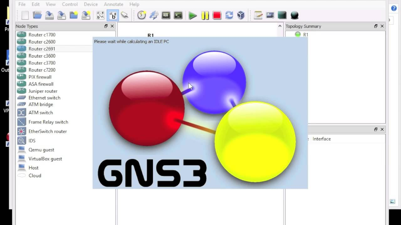 GNS3 Installation with Router and ASA with ASDM configuration