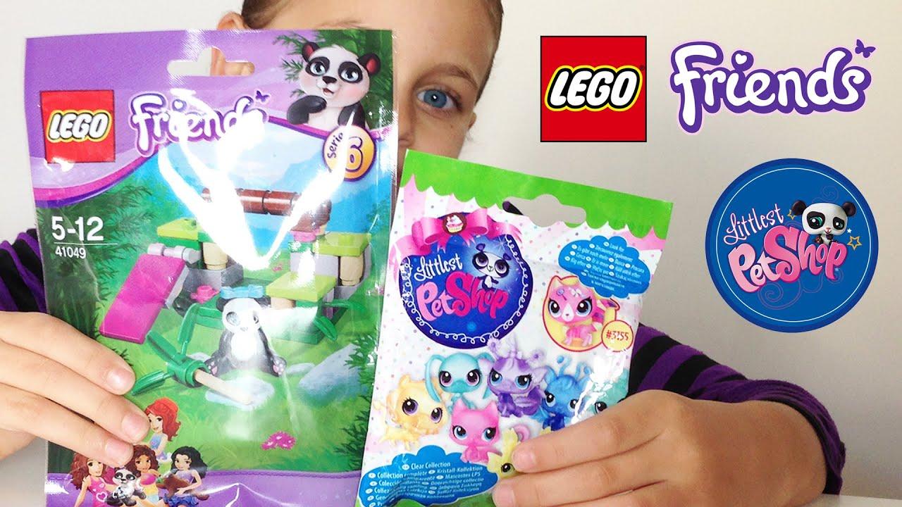 jouet lego friends panda littlest pet shop toys. Black Bedroom Furniture Sets. Home Design Ideas