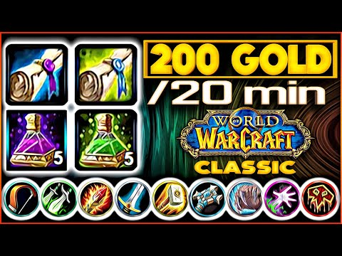 Classic WoW - 3 Grind Spots For ALL Classes - Rags To Riches.