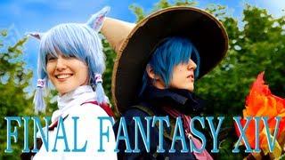 [ENG SUB] FINAL FANTASY XIV Cosplay-Act @ AniNite 2012