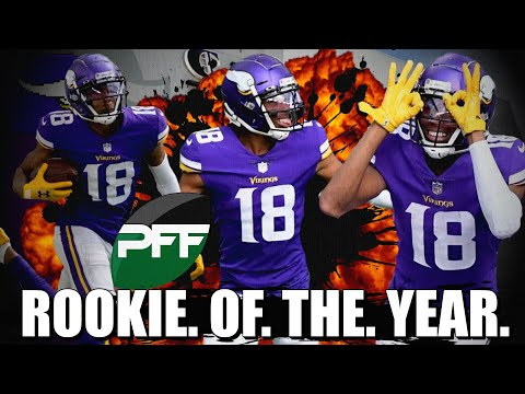 Pro Football Focus Names Justin Jefferson Rookie of the Year 👀👀👀