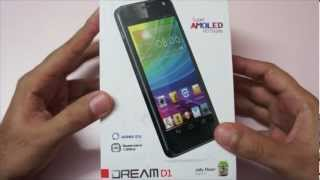 Gionee Dream D1 Android Phone Unboxing & Overview