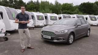 Mondeo tow car review from the Camping and Caravanning Club