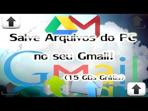 Como Salvar Arquivos do PC no seu Gmail, para poder Acessar e Baixar de Qualquer Lugar!