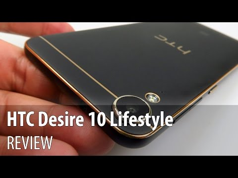 HTC Desire 10 Lifestyle Review (Midrange phone with gold accents, BoomSound tech)