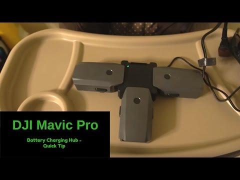DJI Mavic Pro - Battery Charging Hub Quick Tip