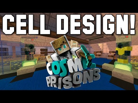 """AMAZING NEW CELL DESIGN!"" Minecraft COSMIC PRISONS (Valron Planet) S3 Ep9"