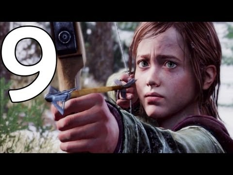 The Last Of Us - Special Movie Version - Part 9 - All Cutscenes/Story - The Lakeside & David