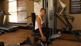 How To Use the Precor S3.45 Leg Extension & Leg Curl