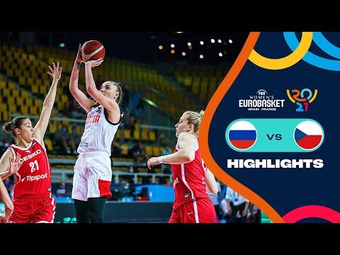 Russia - Czech Republic | Highlights - FIBA Women's EuroBasket 2021