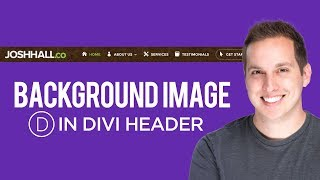 How To Put a Background Image in the Divi Header