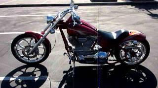 2002 Big Dog Pitbull Pro Street Custom Chopper Motorcycle for Sale!!!  Only $9,999!!!