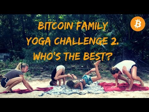 Yoga challenge 2.  Who is the best, who gets bitten and why is Jessa dancing ? | Vlog #012