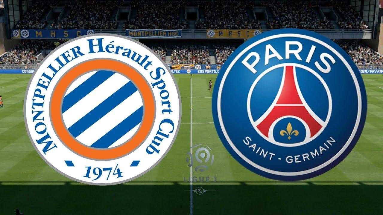Ligue  Montpellier Vs Psg  Fifa  Youtube