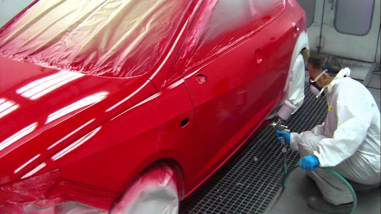 Pintado standoblue de standox auto carrascosa avi youtube - Coches para colorear y pintar ...