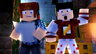 Minecraft Origem #07 - MAPA DO TESOURO !!