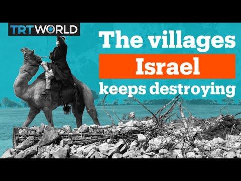 Why Is Israel Demolishing Bedouin Homes?