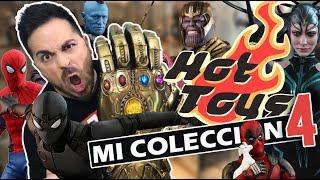 Mi colección de HOT TOYS (Parte 4/4) !Thanos ya está aquí! I Set-Up