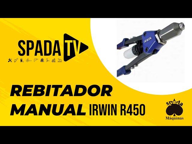 Rebitador Manual Alavanca Irwin R450