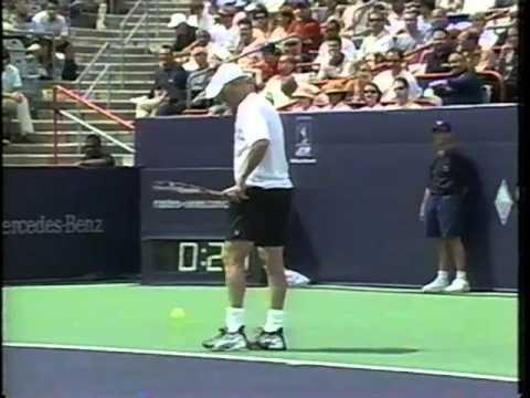 Larose vs Agassi Montreal 2003