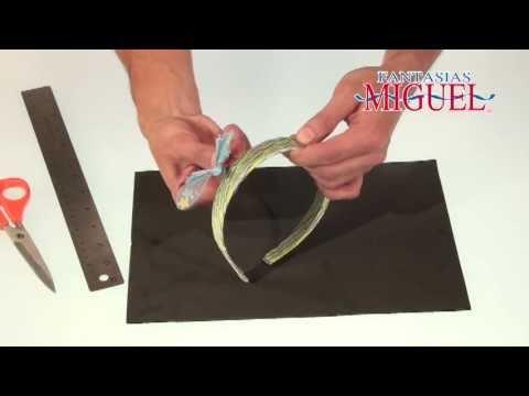 Como hacer una diadema con mariposa youtube - Como hacer diademas ...