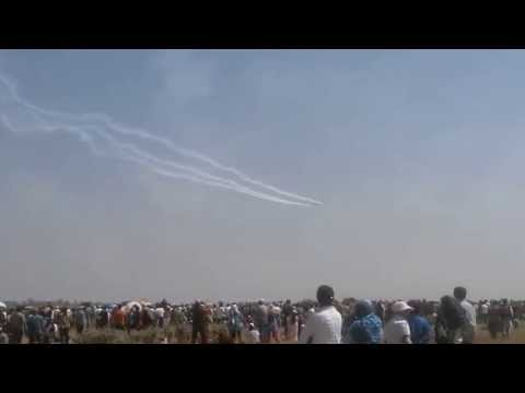 Aero India - 2015 at Yelahanka, Bangalore - [Raw Video]