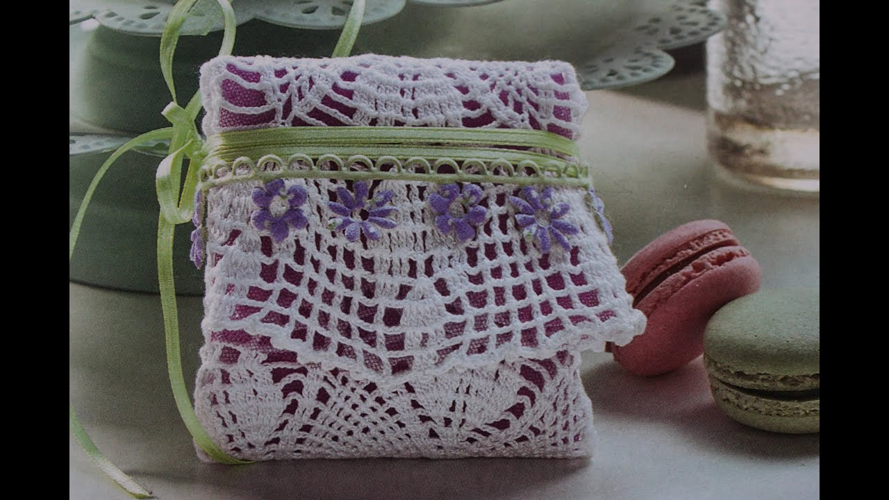 Fabuleux Tutorial Bomboniera porta confetti all' uncinetto (crochet) 2/4  CO01