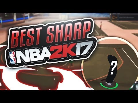 THE BEST SHARPSHOOTER IN NBA 2K17 - MUST WATCH