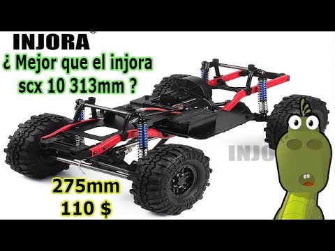 Download Review del INJORA SCX10 Scala Crawler 275mm
