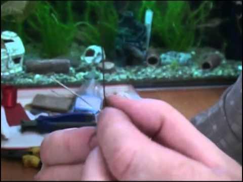 Видео Изготовление самодельных жерлиц для ловли щуки.
