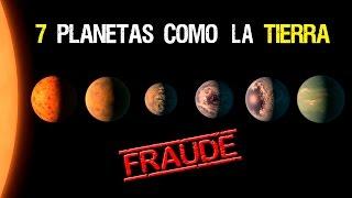 """La NASA """"descubre"""" 7 Planetas como la Tierra - FRAUDE TOTAL"""
