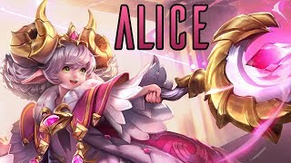 Alice Gameplay Montage - Support - Arena of Valor - Strike of Kings