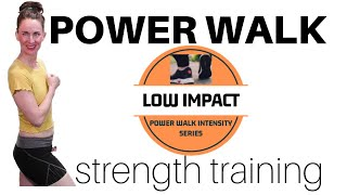 60 MINUTE WORKOUT | POWER WALK & STRENGTH TRAINING WORKOUT | INDOOR WALKING | WALKING PROGRAM