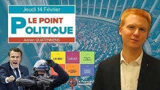 Le Point Politique : Dérive autoritaire et Grand Blabla national, Lois Fi 2019 | Adrien Quatennens